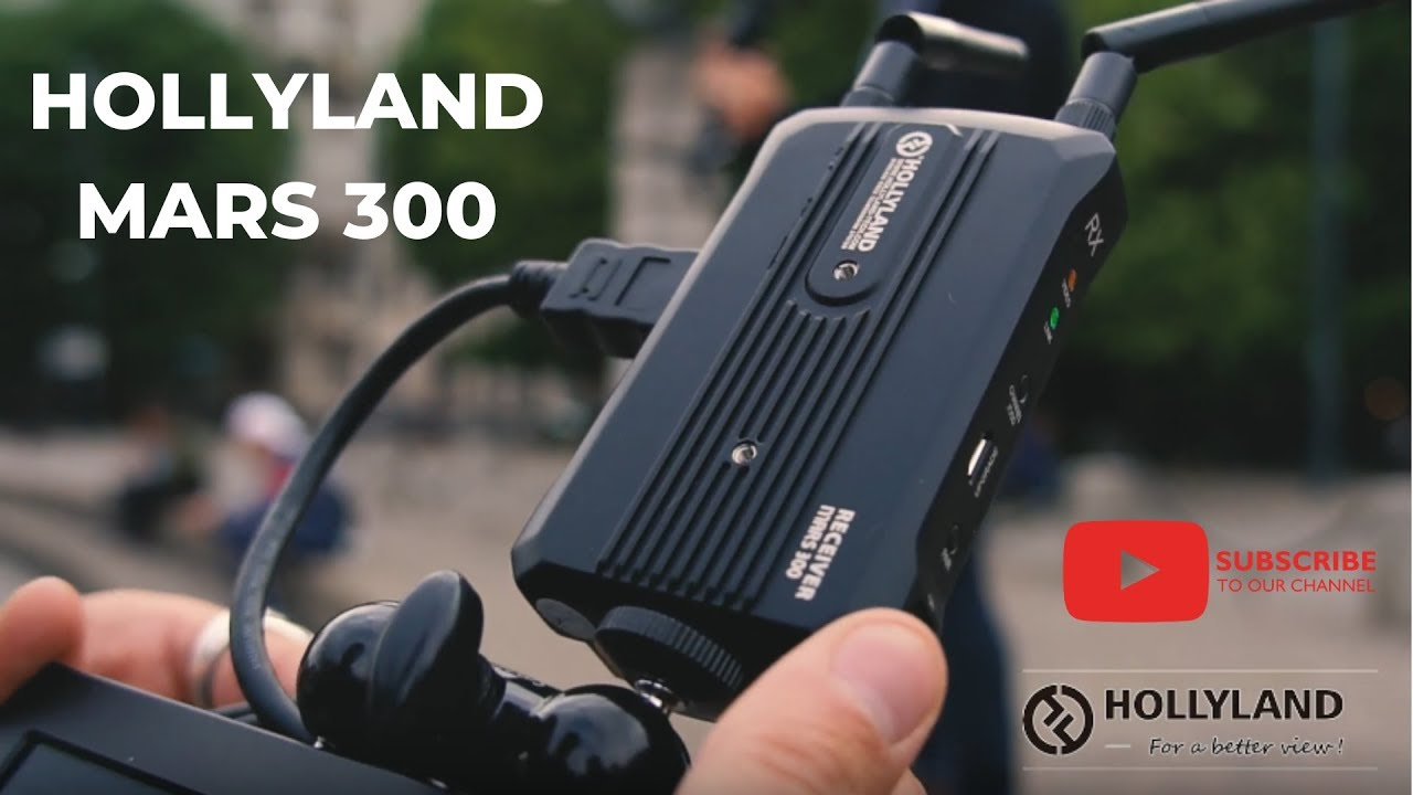 סט וידאו אלחוטי HDMI למרחק 90 מ'  HOLLYLAND MARS300 3