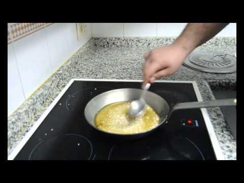 Como curar una sartén de hierro con grasa y vitrocerámica