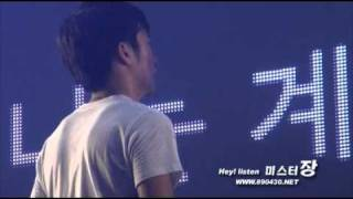 "[FANCAM] 100905 2PM Encore concert ""Thank you"" wooyoung"