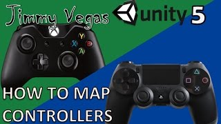 Mini Unity Tutorial - How To Map Xbox & PS4 Controllers