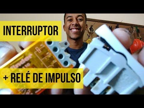 Como Instalar INTERRUPTOR com RELÉ DE IMPULSO 💡