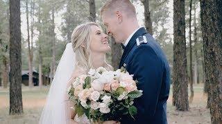 Emotional Military Wedding In Flagstaff, Arizona  |  Forest Highlands Golf Course  Wedding