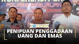 Polisi Bongkar Praktik Penggandaan Uang dan Emas di Pasuruan