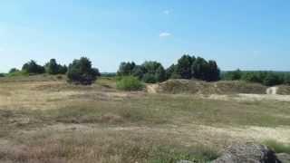 preview picture of video 'Okolice Burzenina i Widawy, Góra Charlawa.'