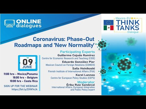 Webinar: Coronavirus: Phase-Out Roadmaps and New Normality