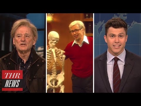 'SNL' Rewind: Host Sam Rockwell Drops F-Bomb, Bill Murray Plays Steve Bannon | THR News