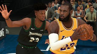 NBA 2K19 Los Angeles Lakers vs Minnesota Timberwolves Full Game – NBA 2K19 Gameplay (PS4)