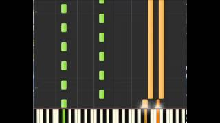 Death Cab For Cutie - Unobstructed Views: Sheets + Synthesia piano + MIDI