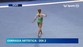 Flavia Saraiva (BRA) FX AA TF @ Sul Americano 2018