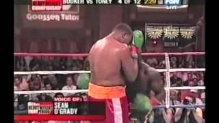 James Toney vs Rydell Booker Part 2