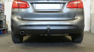Hecktraegeraufnahme BMW 2er 225XE abnehmbar 1146810