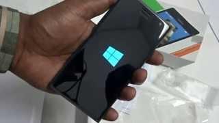 Nokia Lumia 730 Dual Sim Mobile Unboxing Video