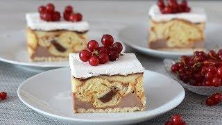 Brzi kolač sa kroasanima [Ne peče se]