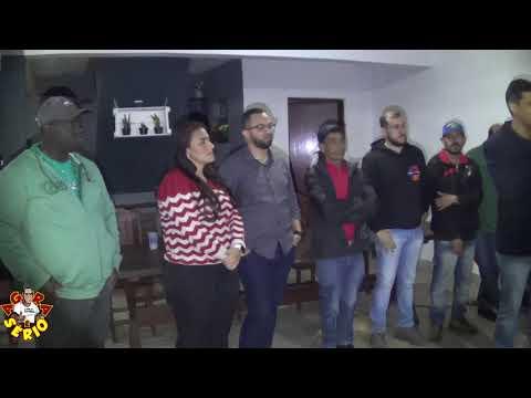 Pedro Ângelo reunido com os Amigos e Atitudes e o Pré Candidato a Deputado Estadual Hugo Prado e a Pré Candidata a Deputada Federal Ely Santos
