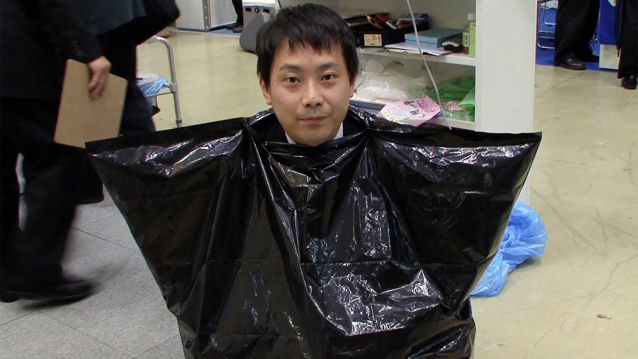 Japanese Emergency Toilet Is Just Shitting In A Garbage Bag