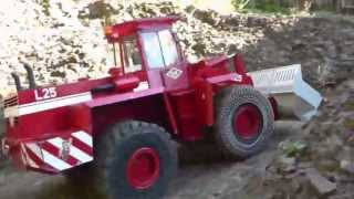 STRONG RC WHEEL LOADER, BIG SCALE WHEEL LOADER AND K701 TIPPER 6X6
