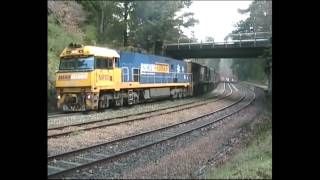 preview picture of video 'Mt Lofty Trains - June 2010'
