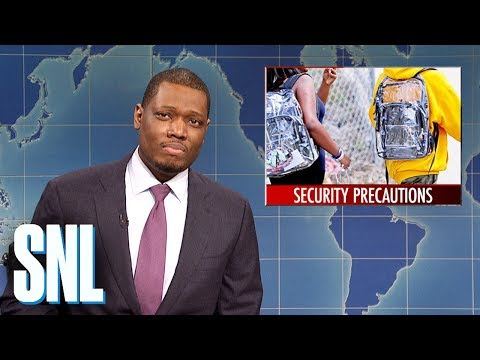 Weekend Update on New Security Measures in Parkland - SNL