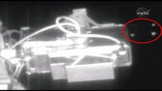 Several UFOS pass International Space Station. Best in 1080p.