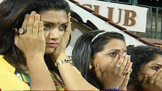 Beautiful Malayalam Actresses Very Disappointed For The Huge Loss Of Wicket | #Kerala Vs #Karnataka