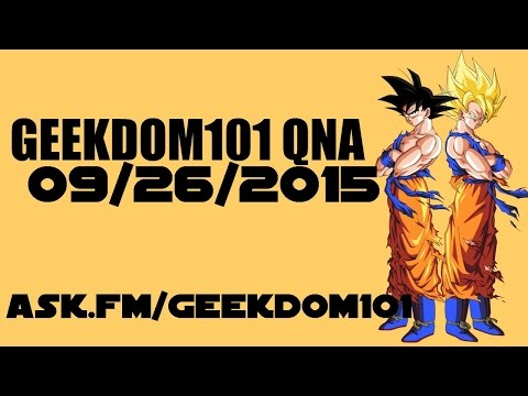 Golden Cell?, Fusion Clothing, Dragon Ball Evolution Thoughts + MORE -  QNA 9-26-15