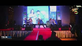 'Bakar Bakar- Nucleya' Dance Performance by NSUSSC in Club Fair 2016