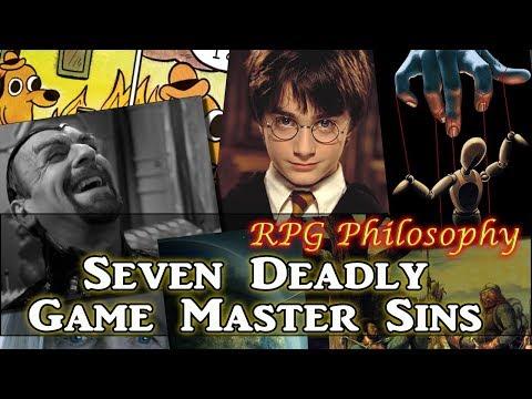 Seven Deadly Game Master Sins