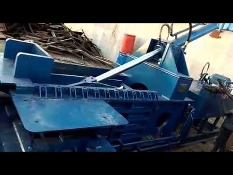 Scrap Baling Machine Triple Action Jumbo