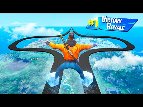 FIRST TO COMPLETE THIS FORTNITE DEATHRUN WINS 50,000 VBUCKS!