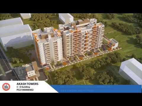 3D Tour of Lunkad Akash Towers C And D