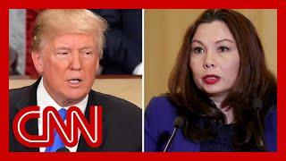 Sen. Tammy Duckworth warns Trump: Don't even think about it