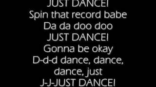 Lady Gaga Ft Colby O' Donis  Just Dance(lyrics)