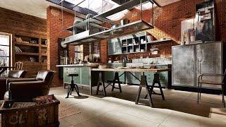 Worlds Most Beautiful Industrial Kitchen Designs
