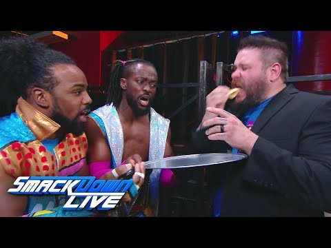 The New Day tests Kevin Owens with a pancake eating challenge: SmackDown LIVE, April 16, 2019
