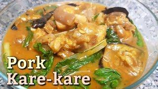 Pork Kare-kare Recipe