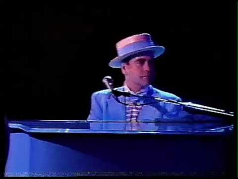 Elton John - Blue Eyes/I Guess That's Why They Call It The Blues (Live in Sydney, Australia 1984) HD