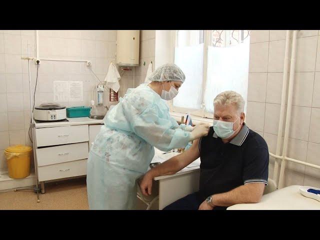 В Приангарье началась массовая вакцинация от Ковид-19