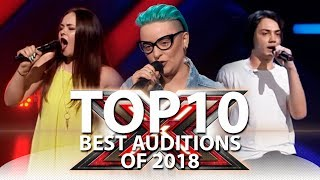 Download TOP-10 BEST AUDITIONS OF 2018 | The X Factor