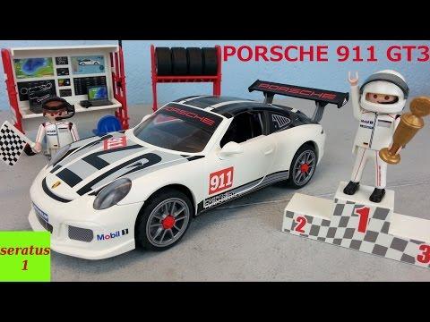 Playmobil Porsche 911 GT3 Cup auspacken seratus1 Sportwagen