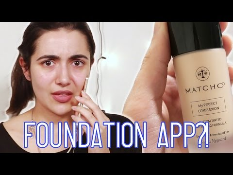 I Got Custom Foundation From An App
