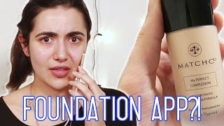 I Got Custom Foundation From An App - Video Youtube