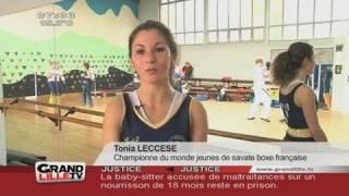 Boxe : Tonia Leccese Championne du Monde
