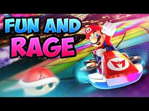 Mario Kart 8 Deluxe Fun & Rage