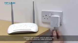 TP-Link TL-WPA4220KIT AV500 Wi-Fi Range Extender Powerline Adapter