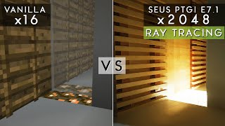 My Take on using the SEUS PTGI E6 Shader in Minecraft for