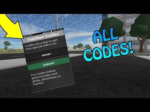 Roblox Vehicle Simulator Best Car 2018 - All Vehicle Simulator Codes The Weird Roblox Roblox Video