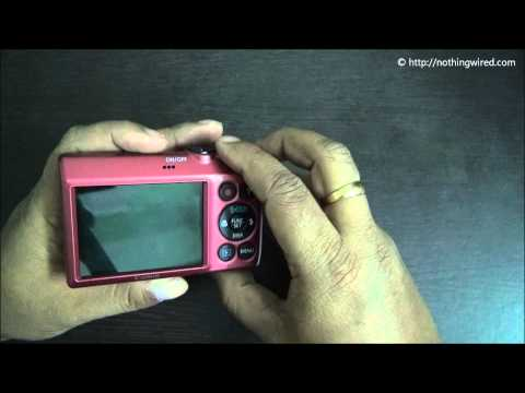 Canon Powershot A810 Review Part 2 full HD Hardware