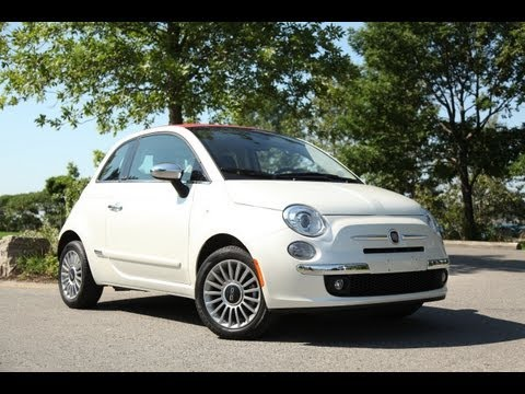 2012 Fiat 500C Review - More for the runway than the freeway