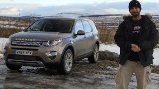 Prueba Land Rover Discovery Sport 2015 (Español)