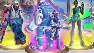 the fastest winter lootbox overwatch opening your brain can process
